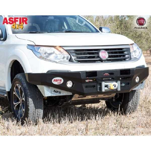 Pare chocs ASFIR a/support de treuil Mitsubishi L200 2016+ et Fiat Fullback