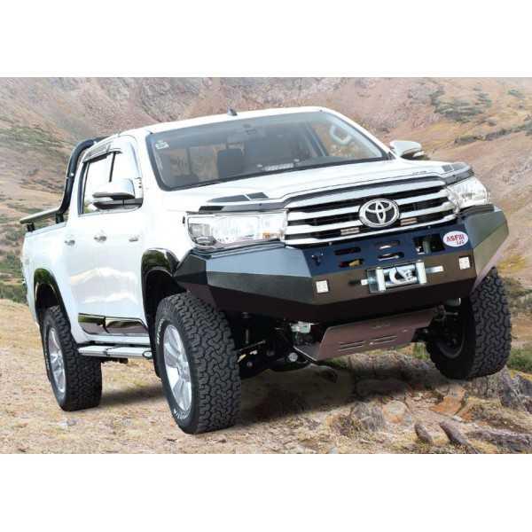 Pare chocs ASFIR a/support de treuil Toyota Revo 2016+